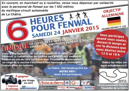 6 heures pour Fenwal